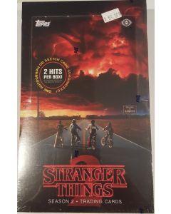 topps Stranger Things Season 2 Hobby box