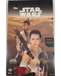 Star Wars: The Force Awakens Series 2 Hobby box
