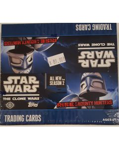 Star Wars The Clone Wars Rise of the Bounty Hunters Box