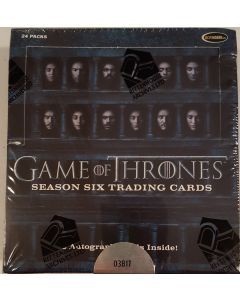Game of Thrones Season six Trading Card Box