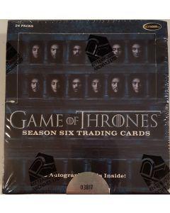 Game of Thrones Season six Trading Card Box