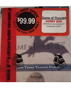 Game of Thrones Season 3 TC Box