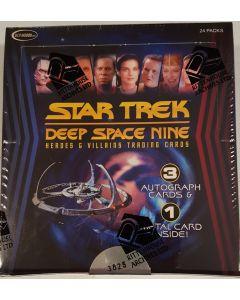 Star Trek  DS9 Heroes and Villains box