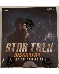 Star Trek Discovery Season one Trading Card Box