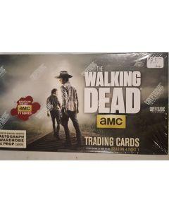 Cryptozoic Walking Dead Season 4 part 1 Trading card hobby box