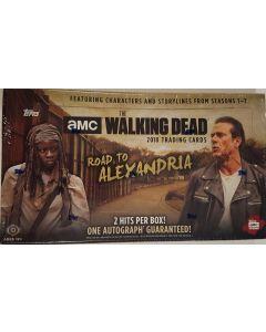 topps Walking Dead Road To alexadria Hobby box