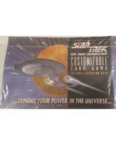 Star Trek CCG the next generation Unlimited Booster Box 36 Pk white border