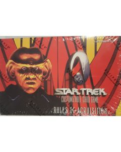 Star Trek CCG Rules of Acquisition 30 Pk booster box
