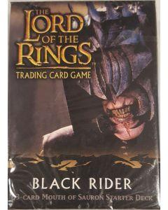 LOTR Mouth of Sauron Starter Deck, Black Rider 60 card