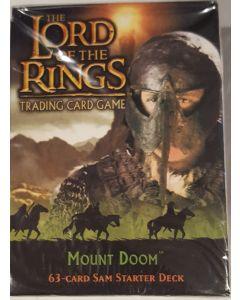 LOTR Sam Starter deck  Mount Doom 60 card