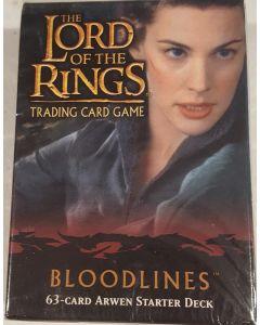 LOTR Arwen starter deck Bloodlines 60 cards