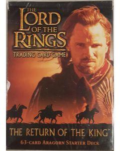 LOTR Aragorn Starter deck The Return of the King 60 card