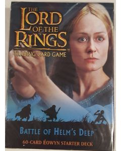 LOTR Eowen Starter Deck Battle of helm's deep 60 card