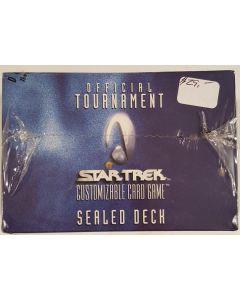 Star Trek official Tournament sealed deck box