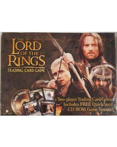 LOTR Two Player TCG inc/Free quickstart CD-Rom Game Tutorial