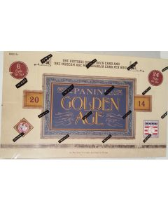 2014 Panini golden Age Hobby box 1 auto 1 relic