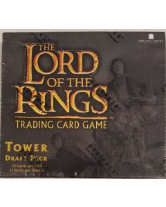 LOTR Tower Draft Pack for TCG 29 cards per pack 12 pk/box