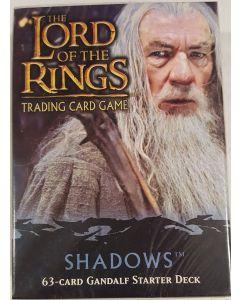 LOTR TCG Shadows Gandalf Starter Deck 63 cards box