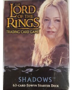 LOTR TCG Shadows Eowyn Starter Deck 63 Cards deck