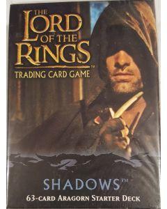 LOTR TCG Shadows Aragorn Starter Deck 63 cards