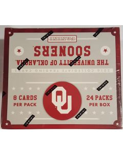 2016 Oklahoma Sooners Trading card box 24 pk