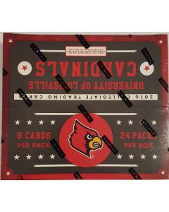 2016 Panini Louisville Cardinals collegiate trading card box 24pk