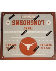 2015 Panini Texas Longhorns Collegiate trading card box 24pk