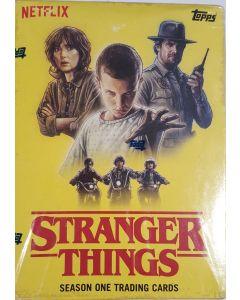 2018 Stranger things series 1 Blaster 10 packs + 1 comm. card