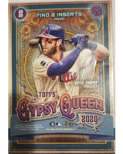 Gypsy Queen Blaster value box 7pk box w/1 pack of 5 green retail parrallels