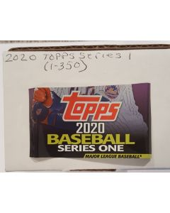 2020 Topps Series 1 Set (1-350)  Alvarez, Lux, Bichette, and Aquino RC's