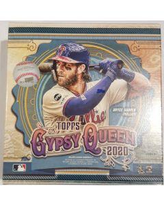 2020 Gypsy Queen Megabox, 10 pk + 2 packs Walmart exc.12 silver parrallels per box