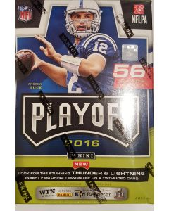 2016 Playoff Football Blaster  7pk RC of zeke, Dak and others.