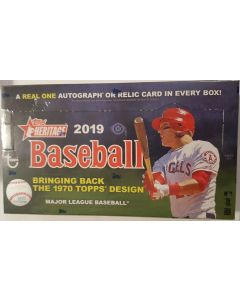 2019 Heritage Hobby box 1970 design 24pk box low series