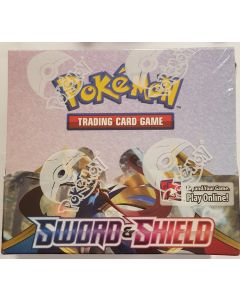 Pokemon sword and shield Sealed booster box 36 packs retail 143.00