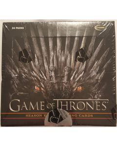 Game of thrones Season 8 trading card set 2 autos