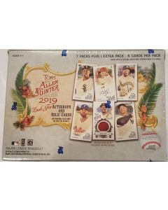 2019 Allen & Ginter Blaster Box Retail, 8 pk boxes.