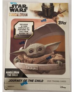 Mandalorian, Journey of the Child Star Wars Blaster 32 card set, box