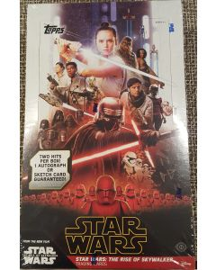 Star Wars Rise of Skywalker Series 1 Hobby Box 24 packs 2 hits
