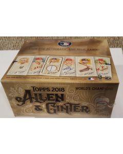 2018 Allen & Ginter Retail 24pk Box, 1 hit on average