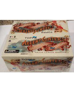 2009 Allen & Ginter Retail 24 pk box  1 hit per box, auto jersey or other relic/auto rip