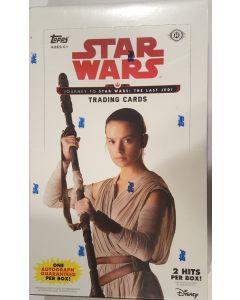 Star Wars Journey to The Last Jedi Hobby Box 24PK, 2 hits 1 guarantied Auto