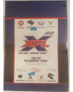 2020 Topps XFL Football Blaster Box
