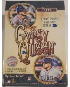 2017 gypsy queen Blaster box retail, 1 guaranteed sp per box