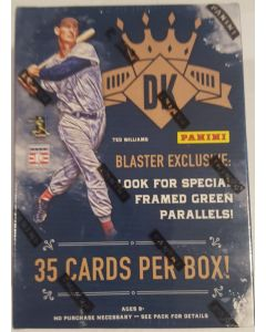 2017 Diamond Kings Blaster 7pk, 5 cards per pack, Ted williams 3 card special