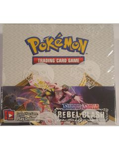 2020 pokemon Rebel Clash Pokemon 36pk, booster box new 5/2020