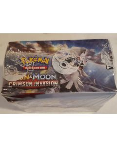 Pokemon 36pk booster box Crimson Invasion