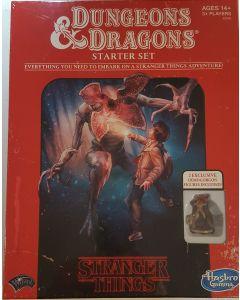 "Dungeons & Dragons starter set ""Stranger Things"" w/2 exclusive figures."