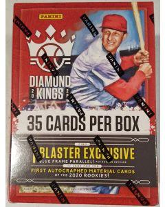2020 Diamond King Baseball Blaster box 7 packs + exclusive blue framed parrallels