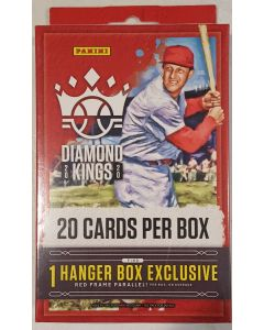 2020 Diamond King Baseball Hanger Box 1 pack 20 cards exclusive red framed parrallel + 4 sp per box