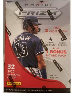 2020 prizm Baseball Blaster Box 6 packs 4 cards Plus 1 8 card pack
